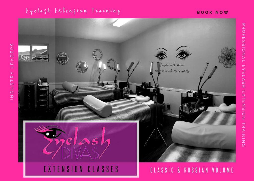 Eyelash Extension Training Diva Lash Studio Spa Llc