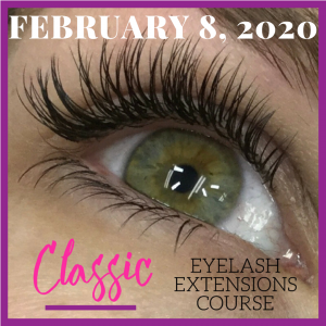 February 2020 Classic Lash Training