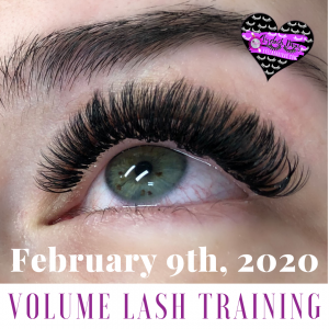 February Volume Lash Training