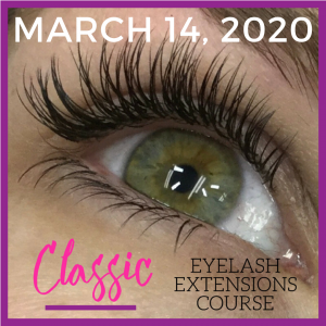 March 2020 Classic Lash Training